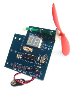 Windy Joules electronics kit