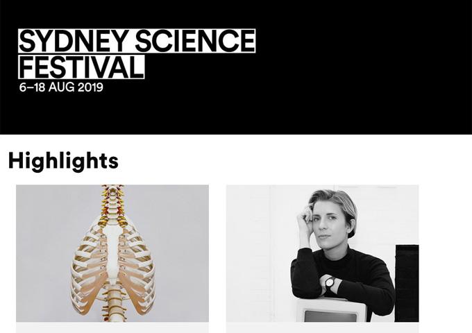 Sydney Science Festival 2019