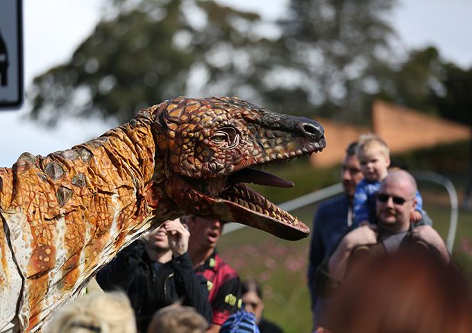 Space, dinos and plastics up for debate in Launceston