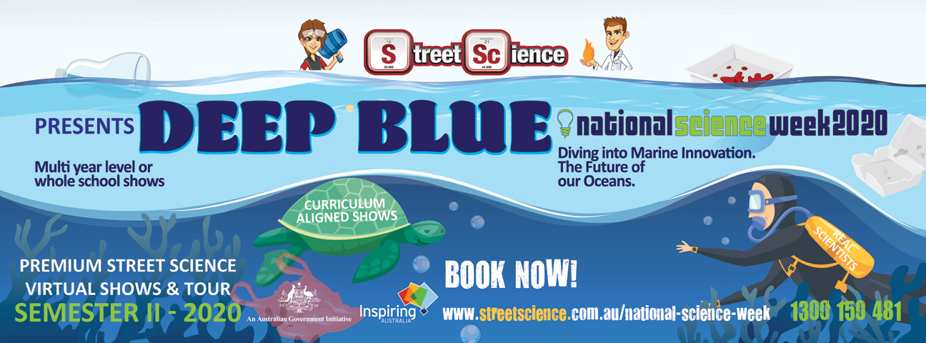 Deep Blue shows by Street Science