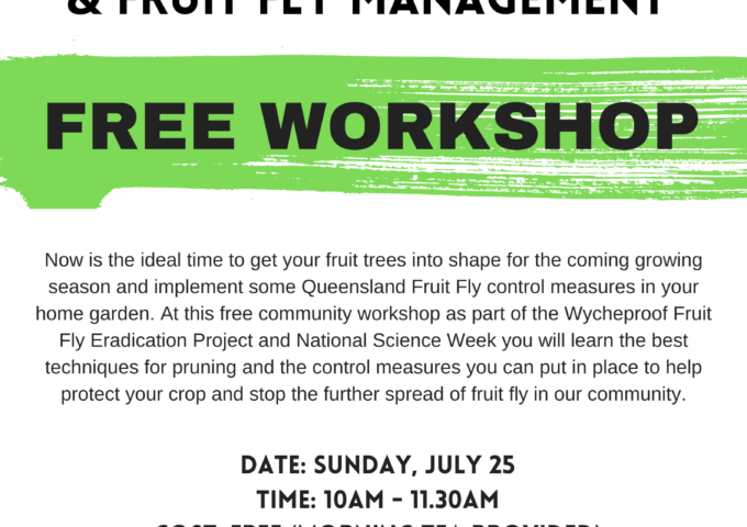 Pruning & Garden Hygiene for Fruit Fly Management