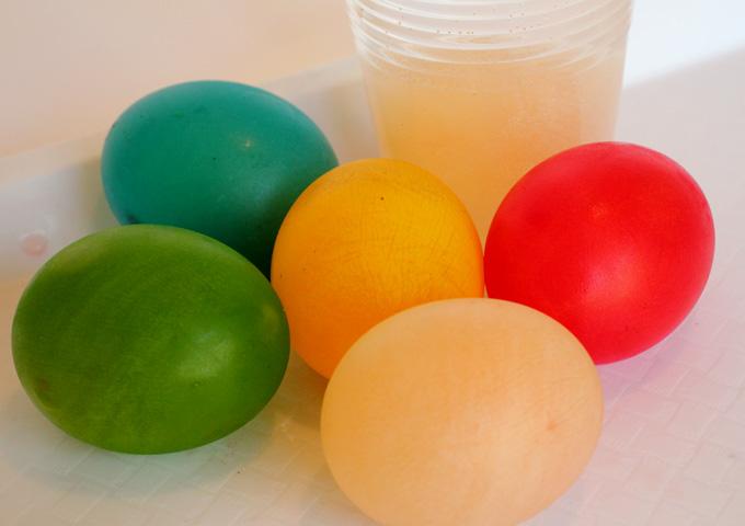 DIY Science: Bouncy Eggs