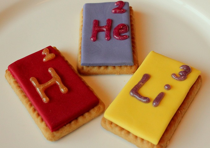 DIY Science: Periodic Table Biscuits
