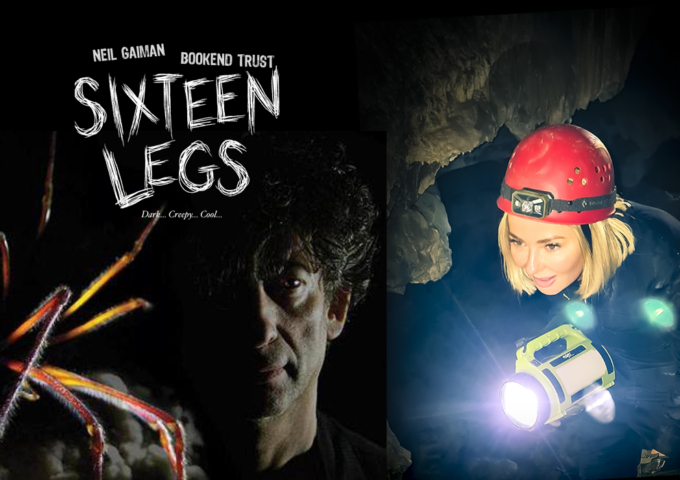 SIXTEEN LEGS - Enter The Cave Exhibition